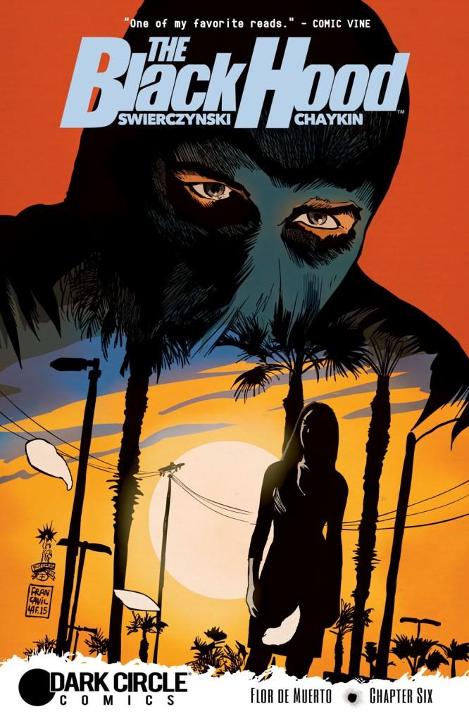 THE BLACK HOOD #6 Cover by Francesco Francavilla