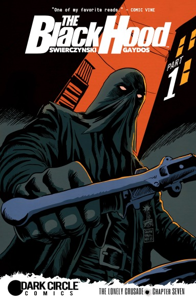 THE BLACK HOOD #7 Cover by Francesco Francavilla