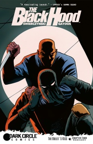 THE BLACK HOOD #4 Cover by Francesco Francavilla