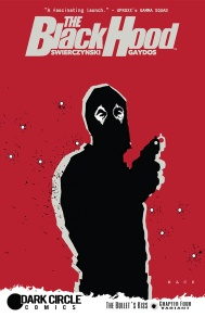 THE BLACK HOOD #4 Variant Cover by David Mack