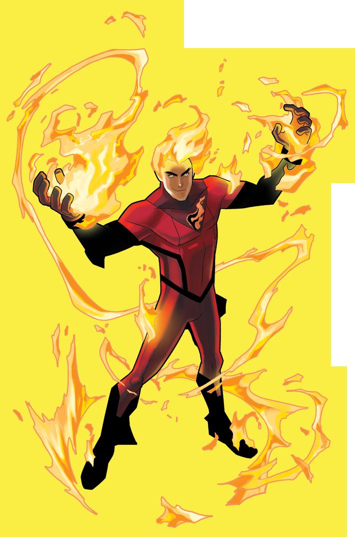 Fireball Dark Circle Comics