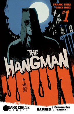 THE HANGMAN #1 Variant Cover by Franceso Francavilla