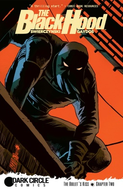 BLACK HOOD #2 Cover by Francesco Francavilla