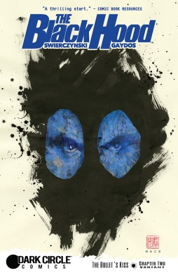 BLACK HOOD #2 Variant Cover by David Mack