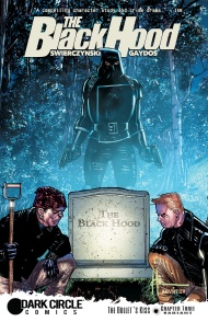 THE BLACK HOOD #3 variant cover by Howard Chaykin