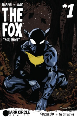 THE FOX #1 variant cover by Thomas Pitilli