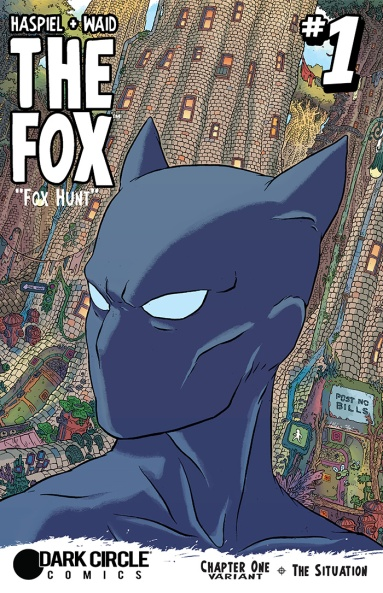 THE FOX #1 variant cover by Ulises Farinas