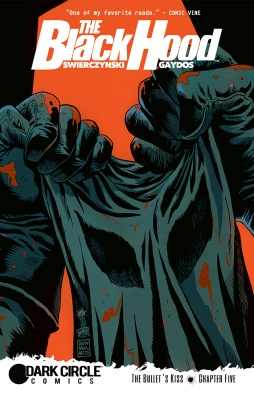 BLACK HOOD #5 Cover by Franceso Francavilla