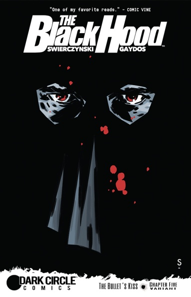 BLACK HOOD #5 Variant Cover by Matthew Dow Smith