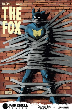 THE FOX #5 Variant Cover by Eli Powell