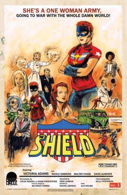 THE SHIELD #1 Variant Cover by Robert Hack