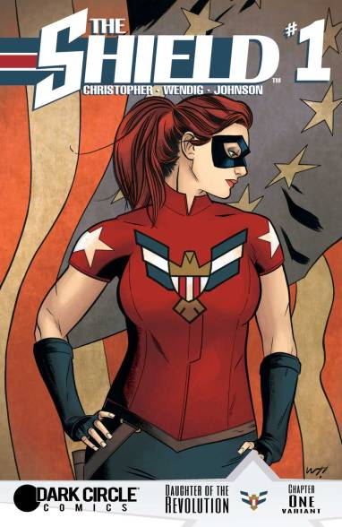 THE SHIELD #1 Variant Cover by Wilfredo Torres
