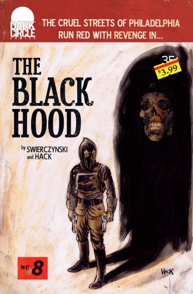 THE BLACK HOOD #8 Variant Cover by Robert Hack