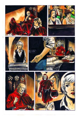 CHILLING ADVENTURES OF SABRINA #5 Artwork by Robert Hack