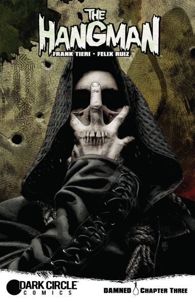 THE HANGMAN #3 Cover by Tim Bradstreet